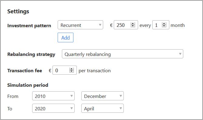 Jak wybrac ETF backtesting na curvo.eu 2