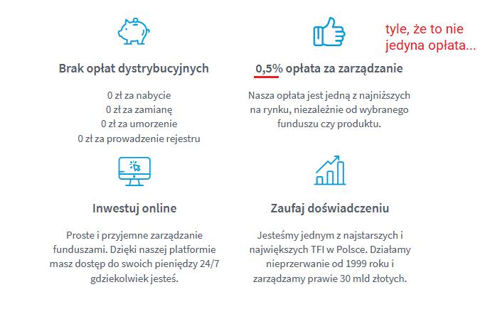 Jak inwestować 100 zł miesięcznie - Opłaty inPzu reklama